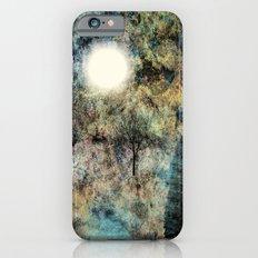 Landscape Glowing in Blue Slim Case iPhone 6s