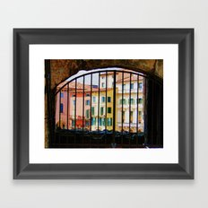 Out of the Arena Framed Art Print