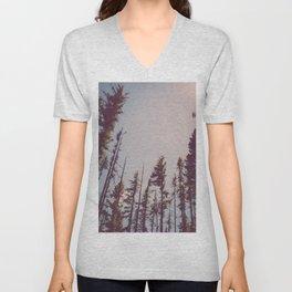 Forest Treetops Unisex V-Neck