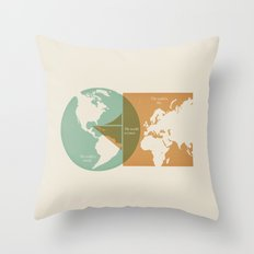 Sail Outside the Box Throw Pillow