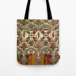 Batalha gothic tracery Tote Bag