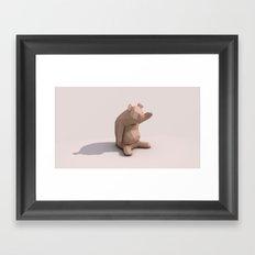 Hello Piggy Framed Art Print