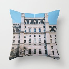 city hall, philly Throw Pillow