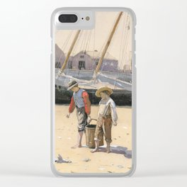 A Basket of Clams Winslow Homer 1873 Clear iPhone Case