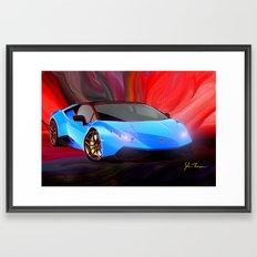 Lamborghini Huracán Framed Art Print