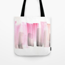 [161228] 25. Abstract Watercolour Color Study  Watercolor Brush Stroke Tote Bag