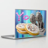 cookies Laptop & iPad Skins featuring COOKIES! by Aldo Couture