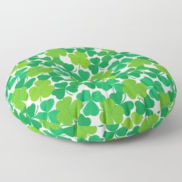 Shamrock Pattern Floor Pillow