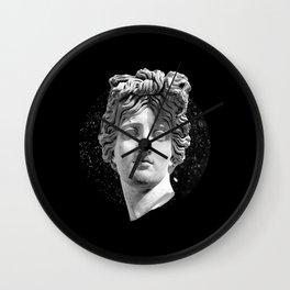 Sculpture Head III Wall Clock