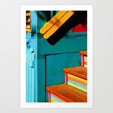 candy steps  Art Print