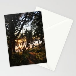 Otter Rock Sunset Stationery Cards