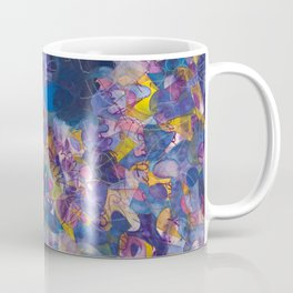 Ajna Mandala (Third Eye, 6th Chakra) Coffee Mug