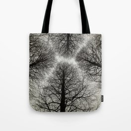 Winter Trees in Tokyo near the Imperial Palace Tote Bag