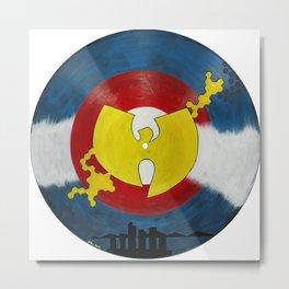 Mile High Wu Tang #1 Metal Print