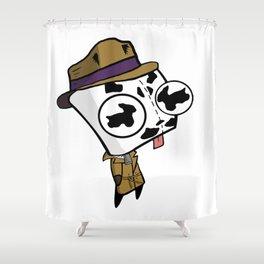 Rorschach GIR Shower Curtain