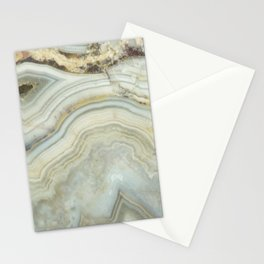 White Agate Stationery Cards