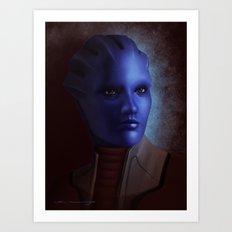 Mass Effect: Matriarch Aethyta Art Print