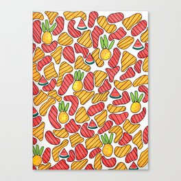 Fruity and Fresh Canvas Print