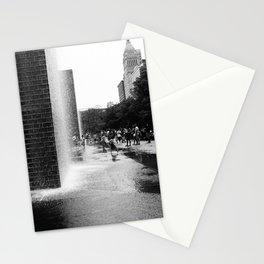 Chicago Street Scenes 2: City Splash Stationery Cards
