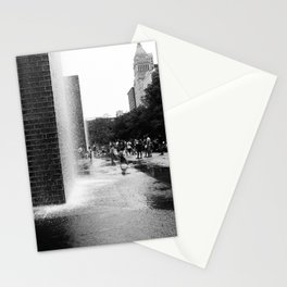 Chicago Street Scenes 2: City Splash Stationery Cards