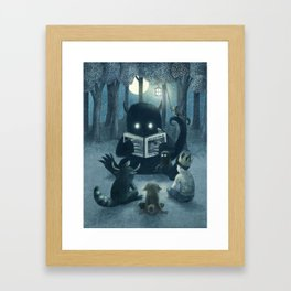 Reading Circle Framed Art Print