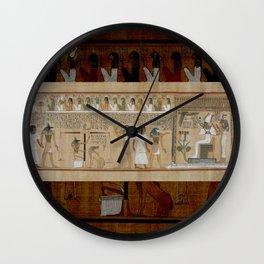 Judgement Wall Clock