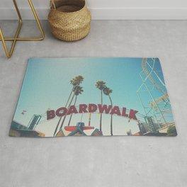 Santa Cruz boardwalk ... Rug