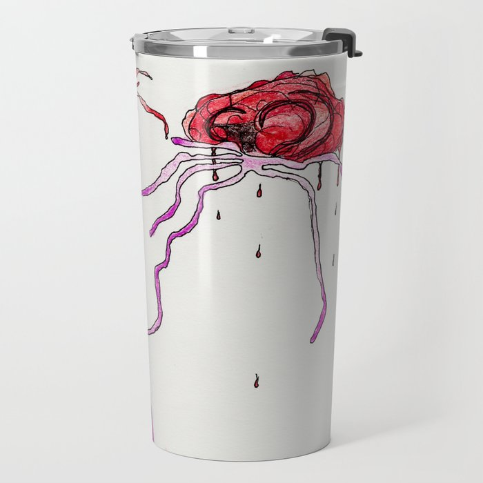 Try Not To Think About It Travel Mug
