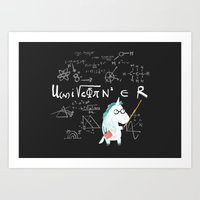 Unicorn = real Art Print