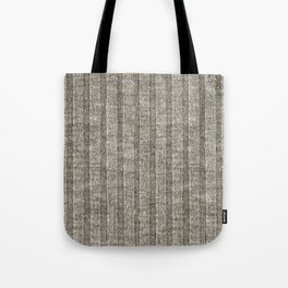Soft Brown Jersey Knit Pattern Tote Bag