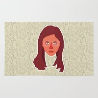 buffy the vampire slayer Area & Throw Rugs featuring Buffy Summers - Buffy the Vampire Slayer by Kuki