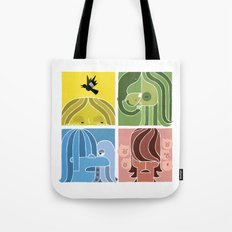Fab Four Pets Tote Bag