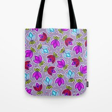 Pop Off Floral Tote Bag