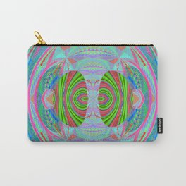 African Print Inspired Geometric Trip Carry-All Pouch