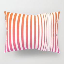 Pink stripes Linear pattern funny Pillow Sham