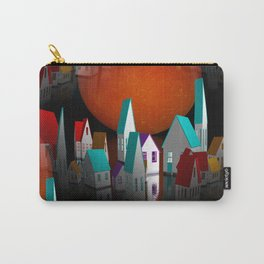a seamless geometric horizon -2- Carry-All Pouch