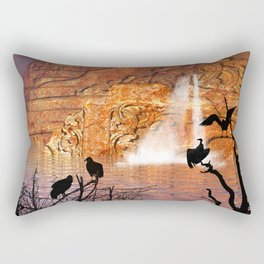 fantasy landscape  Rectangular Pillow