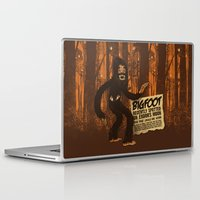 bigfoot Laptop & iPad Skins featuring Bigfoot spotted on… by Carlos Rocafort