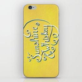 Sunshine & Whiskey iPhone Skin