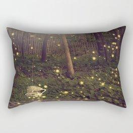 Fireflies Rectangular Pillow