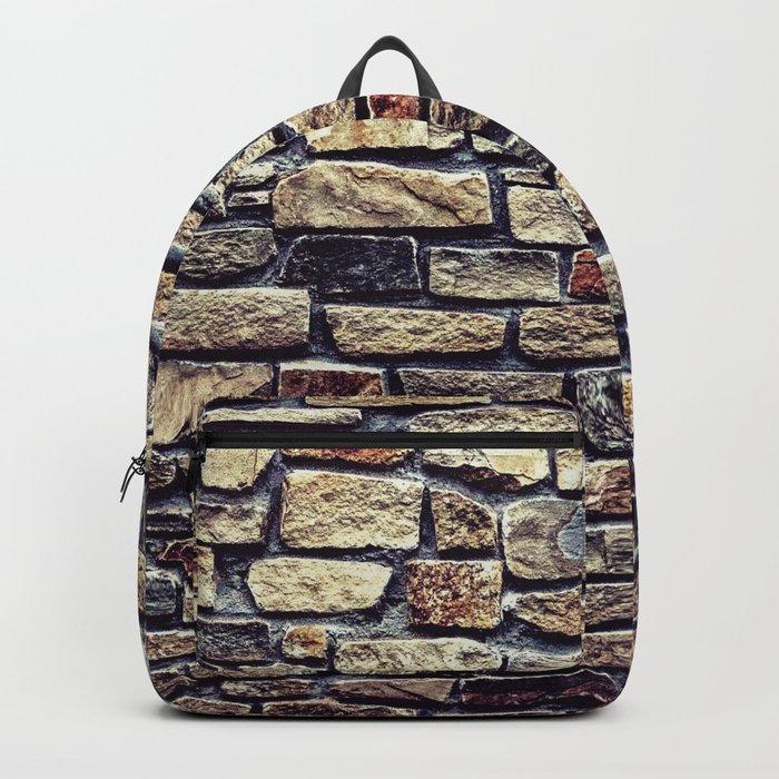 Brick Wall Pattern Backpack