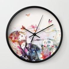 dreamy insomnia Wall Clock