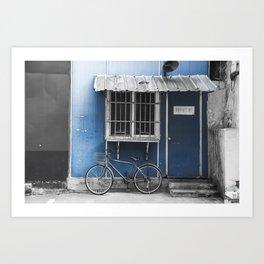 colorless shanghai 3 Art Print