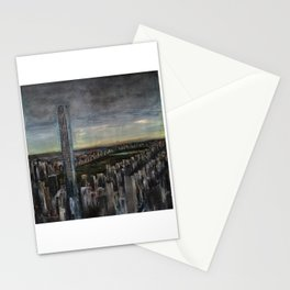 432 Park Ave (oil on canvas) Stationery Cards