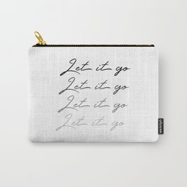 Make Like Elsa & Let It Go Carry-All Pouch