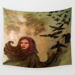 The Morrighan Wall Tapestry