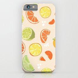 Citrus Fruit Fun iPhone Case