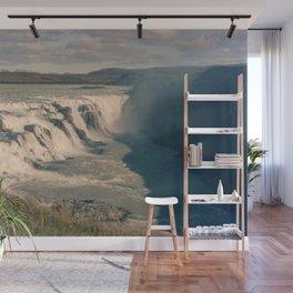 Gullfoss Waterfall Wall Mural