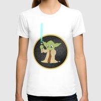 yoda T-shirts featuring Yoda by alittlecartoonie