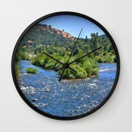 American River III Wall Clock